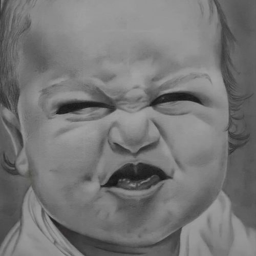 that can't tempt me. , 8 x 12 inch, yashvardhan gupta,8x12inch,fabriano sheet,drawings,portrait drawings,paintings for kids room,graphite pencil,GAL03279645532