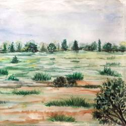 greenfield, 16 x 12 inch, anil chaurasiya,16x12inch,canvas,paintings,landscape paintings,nature paintings | scenery paintings,art deco paintings,contemporary paintings,paintings for dining room,paintings for living room,paintings for bedroom,paintings for office,paintings for bathroom,paintings for kids room,paintings for hotel,paintings for kitchen,paintings for school,paintings for hospital,watercolor,GAL0666645577