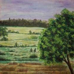 greenfieldgr 2, 24 x 18 inch, anil chaurasiya,24x18inch,canvas,paintings,landscape paintings,nature paintings | scenery paintings,art deco paintings,contemporary paintings,paintings for dining room,paintings for living room,paintings for bedroom,paintings for office,paintings for kids room,paintings for hotel,paintings for kitchen,paintings for school,paintings for hospital,watercolor,GAL0666645578