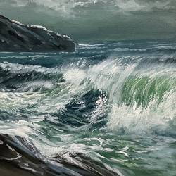 sea waves realistic artwork, 24 x 24 inch, artoholic p,24x24inch,canvas,paintings,landscape paintings,conceptual paintings,nature paintings | scenery paintings,art deco paintings,illustration paintings,impressionist paintings,minimalist paintings,photorealism paintings,photorealism,realism paintings,surrealism paintings,realistic paintings,water fountain paintings,paintings for dining room,paintings for living room,paintings for bedroom,paintings for office,paintings for bathroom,paintings for kids room,paintings for hotel,paintings for kitchen,paintings for school,paintings for hospital,acrylic color,GAL02078845607