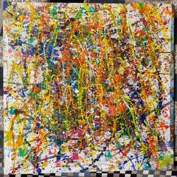 abstract colours 1, 14 x 18 inch, lina khadatkar ,14x18inch,canvas board,drawings,abstract drawings,abstract expressionism drawings,paintings for dining room,paintings for living room,paintings for bedroom,paintings for office,paintings for hotel,acrylic color,GAL03291745701