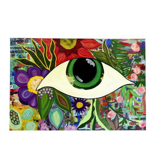 natures eye, 72 x 48 inch, aastha khanna,72x48inch,canvas,paintings,abstract paintings,acrylic color,GAL03280745788