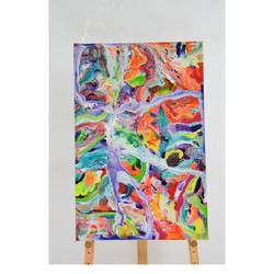 abstract painting 6, 32 x 48 inch, aastha khanna,32x48inch,canvas,paintings,abstract paintings,mixed media,GAL03280745791