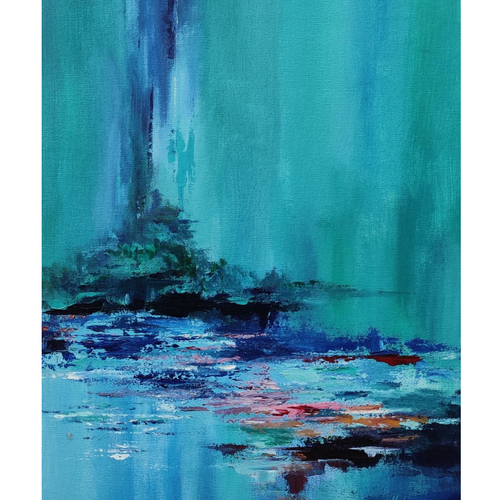 abstract cool no. 1, 14 x 18 inch, nilesh  nikalje,14x18inch,canvas,paintings,abstract paintings,landscape paintings,modern art paintings,conceptual paintings,nature paintings | scenery paintings,abstract expressionism paintings,paintings for dining room,paintings for living room,paintings for bedroom,paintings for office,paintings for bathroom,paintings for kids room,paintings for hotel,paintings for kitchen,paintings for school,paintings for hospital,acrylic color,GAL02736845897