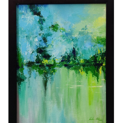 creative landscape (greenery), 12 x 16 inch, nilesh  nikalje,12x16inch,canvas,paintings,abstract paintings,landscape paintings,modern art paintings,conceptual paintings,nature paintings | scenery paintings,abstract expressionism paintings,expressionism paintings,impressionist paintings,paintings for dining room,paintings for living room,paintings for bedroom,paintings for office,paintings for bathroom,paintings for kids room,paintings for hotel,paintings for kitchen,paintings for school,paintings for hospital,acrylic color,GAL02736845900