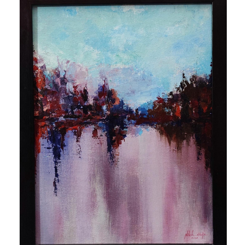 creative landscape (sunset), 12 x 16 inch, nilesh  nikalje,12x16inch,canvas,paintings,abstract paintings,landscape paintings,modern art paintings,conceptual paintings,nature paintings | scenery paintings,abstract expressionism paintings,contemporary paintings,paintings for dining room,paintings for living room,paintings for bedroom,paintings for office,paintings for bathroom,paintings for kids room,paintings for hotel,paintings for kitchen,paintings for school,paintings for hospital,acrylic color,GAL02736845902