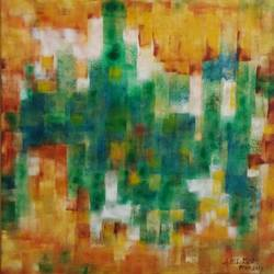 composition, 24 x 24 inch, dr. amit kumar  verma,abstract paintings,paintings for dining room,canvas,acrylic color,24x24inch,GAL016284599