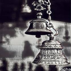 temple bells, 30 x 36 inch, satadru mishra,30x36inch,canvas,paintings,religious paintings,paintings for dining room,paintings for living room,paintings for bedroom,paintings for dining room,paintings for living room,paintings for bedroom,mixed media,GAL03313546041