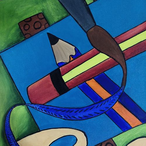 palette , paints and more, 16 x 24 inch, sumeet kaur,16x24inch,canvas board,children paintings,kids paintings,paintings for kids room,paintings for hotel,paintings for school,paintings for hospital,paintings for kids room,paintings for hotel,paintings for school,paintings for hospital,acrylic color,GAL03310646064