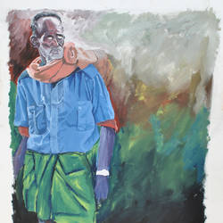 time, 48 x 60 inch, kumar avinash,48x60inch,canvas,figurative paintings,paintings for living room,paintings for office,paintings for hotel,paintings for school,paintings for living room,paintings for office,paintings for hotel,paintings for school,acrylic color,oil color,GAL03320946209