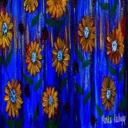 colorful blessing , 12 x 16 inch, monika kashyap,12x16inch,canvas,flower paintings,acrylic color,GAL03196046242
