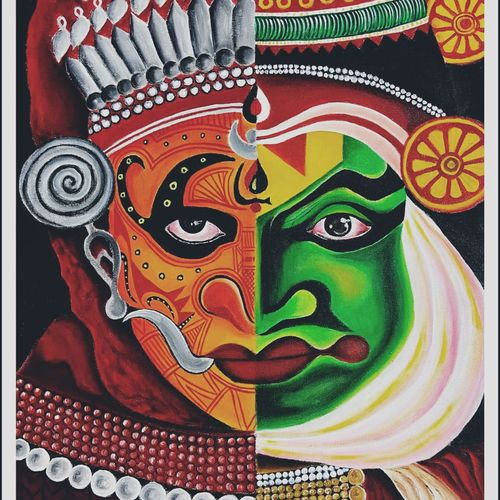 fusion, 20 x 24 inch, ankana lahiri,20x24inch,canvas,paintings,abstract paintings,paintings for dining room,paintings for living room,paintings for bedroom,paintings for office,paintings for hotel,paintings for hospital,acrylic color,GAL01642746261