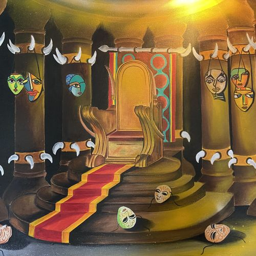 the list kingdom, 30 x 24 inch, ankana lahiri,30x24inch,canvas,paintings,abstract paintings,paintings for dining room,paintings for living room,paintings for bedroom,paintings for office,paintings for hotel,paintings for hospital,acrylic color,GAL01642746263