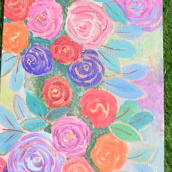 rose garden, 8 x 12 inch, prachi sharma,8x12inch,canvas board,abstract paintings,flower paintings,modern art paintings,abstract expressionism paintings,art deco paintings,illustration paintings,impressionist paintings,contemporary paintings,paintings for dining room,paintings for living room,paintings for bedroom,paintings for bathroom,paintings for hotel,paintings for dining room,paintings for living room,paintings for bedroom,paintings for bathroom,paintings for hotel,acrylic color,GAL03325746286