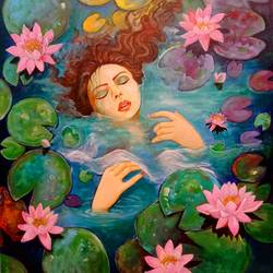 beauty of nature, 36 x 42 inch, arjun das,36x42inch,canvas,paintings,figurative paintings,flower paintings,nature paintings | scenery paintings,paintings for dining room,paintings for living room,paintings for bedroom,paintings for office,paintings for bathroom,paintings for hospital,acrylic color,GAL011246421