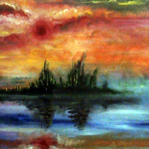 abstract landscape (evening on fire), 28 x 19 inch, pankaj malukar,28x19inch,canvas,abstract paintings,landscape paintings,modern art paintings,conceptual paintings,still life paintings,nature paintings | scenery paintings,abstract expressionism paintings,art deco paintings,dada paintings,expressionism paintings,surrealism paintings,contemporary paintings,paintings for dining room,paintings for living room,paintings for bedroom,paintings for office,paintings for bathroom,paintings for kids room,paintings for hotel,paintings for kitchen,paintings for school,paintings for hospital,paintings for dining room,paintings for living room,paintings for bedroom,paintings for office,paintings for bathroom,paintings for kids room,paintings for hotel,paintings for kitchen,paintings for school,paintings for hospital,acrylic color,GAL03341446579