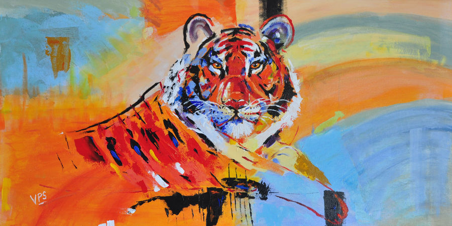 The mighty tiger