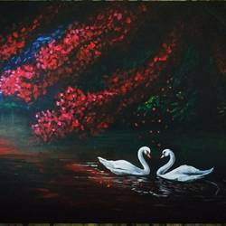 souls of the night, 20 x 16 inch, abhishek pachkale,20x16inch,canvas board,paintings,acrylic color,GAL03362446692