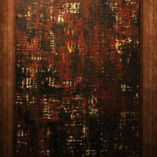 abstract , 30 x 39 inch, swapnil  mhase,abstract paintings,paintings for living room,canvas,acrylic color,30x39inch,GAL016594678