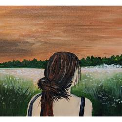 girl in your dreams, 12 x 8 inch, aishwarya dhamdhere,12x8inch,canvas,paintings,abstract paintings,landscape paintings,modern art paintings,conceptual paintings,portrait paintings,nature paintings | scenery paintings,love paintings,paintings for dining room,paintings for living room,paintings for bedroom,paintings for bathroom,paintings for hotel,paintings for dining room,paintings for living room,paintings for bedroom,paintings for bathroom,paintings for hotel,acrylic color,GAL03071446880