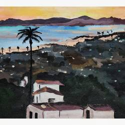 landscape-serene, 14 x 10 inch, aishwarya dhamdhere,14x10inch,canvas,paintings,abstract paintings,cityscape paintings,landscape paintings,nature paintings | scenery paintings,paintings for dining room,paintings for living room,paintings for bedroom,paintings for bathroom,paintings for kids room,paintings for hotel,paintings for kitchen,acrylic color,GAL03071446881