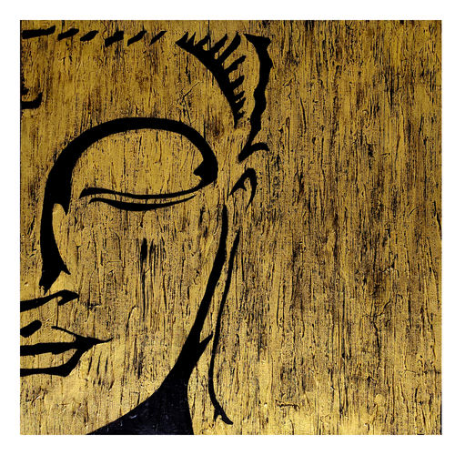 lord buddha line art, 24 x 24 inch, akash bhisikar,24x24inch,canvas,paintings,abstract paintings,buddha paintings,modern art paintings,religious paintings,paintings for dining room,paintings for living room,paintings for bedroom,paintings for office,paintings for kids room,paintings for hotel,paintings for kitchen,paintings for school,paintings for hospital,acrylic color,mixed media,GAL01828646892