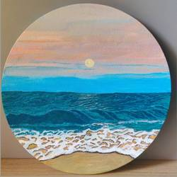 oceanwave, 8 x 8 inch, prachi sharma,8x8inch,canvas,abstract paintings,landscape paintings,modern art paintings,nature paintings | scenery paintings,illustration paintings,realism paintings,contemporary paintings,paintings for dining room,paintings for living room,paintings for bedroom,paintings for office,paintings for hotel,paintings for hospital,paintings for dining room,paintings for living room,paintings for bedroom,paintings for office,paintings for hotel,paintings for hospital,acrylic color,GAL03325746895