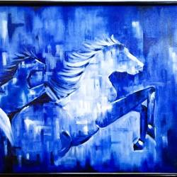 the running horse, 30 x 20 inch, preeti misra,30x20inch,canvas,paintings,abstract paintings,nature paintings | scenery paintings,animal paintings,horse paintings,paintings for dining room,paintings for living room,paintings for bedroom,paintings for office,paintings for hotel,paintings for school,paintings for hospital,oil color,GAL02658246903