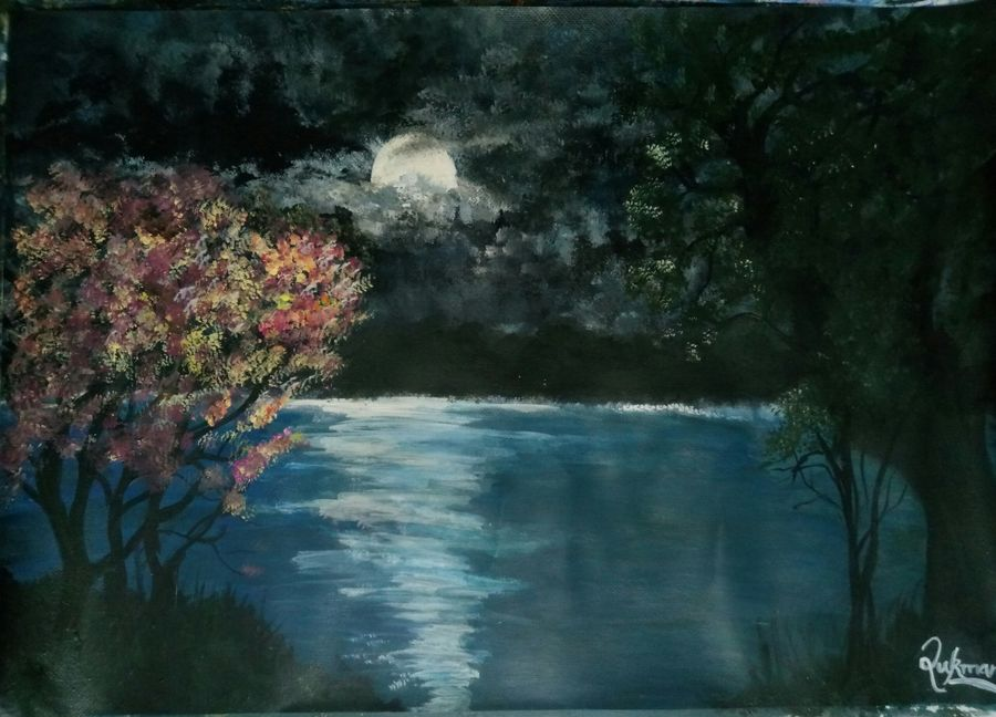 Solitude and moonlight