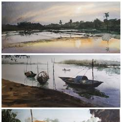 3 landscape, 13 x 6 inch, soyli saha,13x6inch,thick paper,nature paintings | scenery paintings,paintings for dining room,paintings for living room,paintings for bedroom,paintings for office,paintings for bathroom,paintings for kids room,paintings for hotel,paintings for kitchen,paintings for school,paintings for hospital,paintings for dining room,paintings for living room,paintings for bedroom,paintings for office,paintings for bathroom,paintings for kids room,paintings for hotel,paintings for kitchen,paintings for school,paintings for hospital,watercolor,GAL0606546941