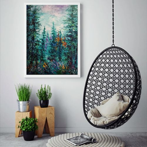 verdure, 24 x 30 inch, anuja saxena,24x30inch,canvas,paintings,abstract paintings,modern art paintings,nature paintings   scenery paintings,abstract expressionism paintings,art deco paintings,paintings for dining room,paintings for living room,paintings for bedroom,paintings for office,paintings for bathroom,paintings for hotel,paintings for kitchen,paintings for school,paintings for hospital,oil color,GAL03393046988