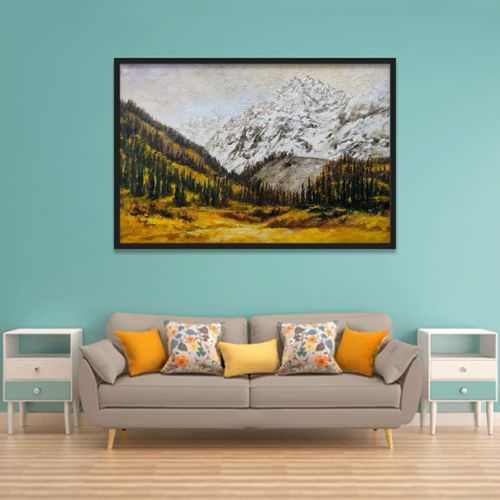 profusion of colors, 30 x 20 inch, anuja saxena,30x20inch,canvas,paintings,abstract paintings,nature paintings | scenery paintings,art deco paintings,realism paintings,paintings for dining room,paintings for living room,paintings for bedroom,paintings for office,paintings for bathroom,paintings for hotel,paintings for kitchen,paintings for school,paintings for hospital,oil color,GAL03393046989