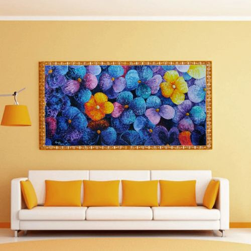 violas somewhere, 48 x 24 inch, anuja saxena,48x24inch,canvas,paintings,abstract paintings,nature paintings | scenery paintings,art deco paintings,impressionist paintings,paintings for dining room,paintings for living room,paintings for bedroom,paintings for office,paintings for kids room,paintings for hotel,paintings for kitchen,paintings for school,paintings for hospital,oil color,GAL03393046991