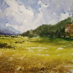limit, 13 x 11 inch, soyli saha,13x11inch,thick paper,paintings,nature paintings   scenery paintings,paintings for dining room,paintings for living room,paintings for bedroom,paintings for office,paintings for bathroom,paintings for kids room,paintings for hotel,paintings for kitchen,paintings for school,paintings for hospital,watercolor,GAL0606547069