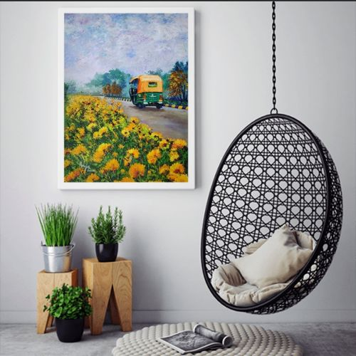 way to life, 17 x 27 inch, anuja saxena,17x27inch,canvas,paintings,abstract paintings,cityscape paintings,modern art paintings,nature paintings | scenery paintings,illustration paintings,paintings for dining room,paintings for living room,paintings for bedroom,paintings for office,paintings for hotel,paintings for kitchen,paintings for school,paintings for hospital,oil color,GAL03393047137