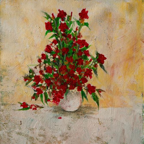 pot of flowers, 12 x 13 inch, rutwij vaidya,12x13inch,canvas,paintings,abstract paintings,flower paintings,modern art paintings,surrealism paintings,contemporary paintings,love paintings,paintings for dining room,paintings for living room,paintings for bedroom,paintings for office,paintings for bathroom,paintings for kids room,paintings for hotel,paintings for kitchen,paintings for school,paintings for hospital,acrylic color,GAL03403347148
