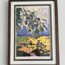 abstract nature painting, 11 x 15 inch, priyanka dhamija,11x15inch,oil sheet,abstract paintings,flower paintings,landscape paintings,modern art paintings,nature paintings   scenery paintings,paintings for living room,paintings for bedroom,paintings for office,paintings for hotel,paintings for school,paintings for living room,paintings for bedroom,paintings for office,paintings for hotel,paintings for school,oil color,GAL03407047180