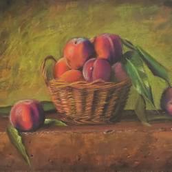 sill life painting, 16 x 12 inch, chandrakesh  singh,16x12inch,thick paper,paintings,still life paintings,photorealism paintings,photorealism,realism paintings,paintings for dining room,paintings for living room,paintings for bedroom,paintings for office,paintings for kids room,paintings for hotel,paintings for kitchen,paintings for school,pastel color,paper,GAL0705647212