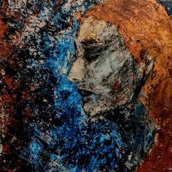 woman in blue, 21 x 30 inch, shradha ajith kumar,21x30inch,canvas,paintings,abstract paintings,wildlife paintings,figurative paintings,flower paintings,folk art paintings,foil paintings,cityscape paintings,landscape paintings,modern art paintings,conceptual paintings,still life paintings,portrait paintings,nature paintings   scenery paintings,tanjore paintings,abstract expressionism paintings,art deco paintings,cubism paintings,dada paintings,expressionism paintings,illustration paintings,impressionist paintings,minimalist paintings,photorealism paintings,photorealism,pop art paintings,portraiture,realism paintings,street art,surrealism paintings,contemporary paintings,realistic paintings,love paintings,water fountain paintings,warli paintings,kalighat painting,phad painting,kalamkari painting,miniature painting.,gond painting.,serigraph paintings,paintings for dining room,paintings for living room,paintings for bedroom,paintings for office,paintings for bathroom,paintings for kids room,paintings for hotel,paintings for kitchen,paintings for school,paintings for hospital,acrylic color,GAL03286047292