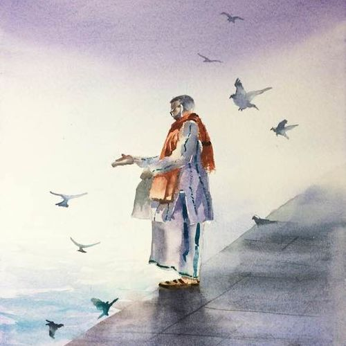 original watercolour painting on lana  handmade paper 300 gsm , 12 x 16 inch, dipankar  biswas,12x16inch,handmade paper,figurative paintings,conceptual paintings,religious paintings,nature paintings   scenery paintings,art deco paintings,expressionism paintings,paintings for dining room,paintings for living room,paintings for bedroom,paintings for office,paintings for kids room,paintings for hotel,paintings for school,paintings for hospital,paintings for dining room,paintings for living room,paintings for bedroom,paintings for office,paintings for kids room,paintings for hotel,paintings for school,paintings for hospital,watercolor,paper,GAL0293247297