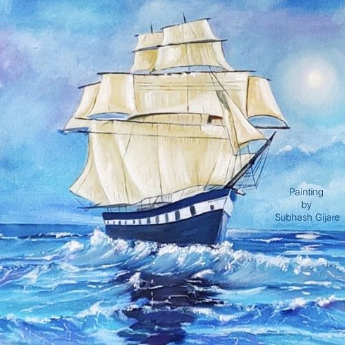good vibes happen on high tides., 24 x 18 inch, subhash gijare,24x18inch,canvas,landscape paintings,nature paintings | scenery paintings,paintings for dining room,paintings for living room,paintings for bedroom,paintings for office,paintings for bathroom,paintings for hotel,paintings for school,paintings for hospital,paintings for dining room,paintings for living room,paintings for bedroom,paintings for office,paintings for bathroom,paintings for hotel,paintings for school,paintings for hospital,oil color,GAL013847328