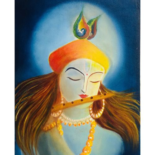 krishna, 10 x 12 inch, shreya singh,10x12inch,canvas,paintings,abstract paintings,buddha paintings,wildlife paintings,figurative paintings,flower paintings,folk art paintings,foil paintings,cityscape paintings,landscape paintings,modern art paintings,multi piece paintings,conceptual paintings,religious paintings,still life paintings,portrait paintings,nature paintings | scenery paintings,tanjore paintings,abstract expressionism paintings,art deco paintings,cubism paintings,dada paintings,expressionism paintings,illustration paintings,impressionist paintings,minimalist paintings,photorealism paintings,photorealism,pop art paintings,portraiture,realism paintings,street art,surrealism paintings,ganesha paintings | lord ganesh paintings,animal paintings,radha krishna paintings,love paintings,paintings for dining room,paintings for living room,paintings for bedroom,paintings for office,paintings for bathroom,paintings for kids room,paintings for hotel,paintings for kitchen,paintings for school,paintings for hospital,oil color,GAL03407447441