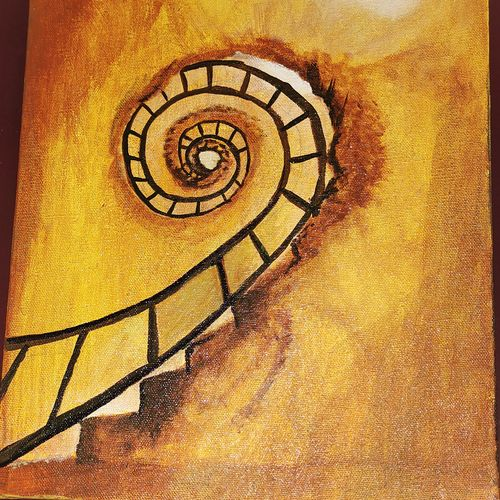 stairs of old church in italy, 10 x 12 inch, gayathri devi,10x12inch,canvas,paintings,abstract paintings,cityscape paintings,modern art paintings,conceptual paintings,still life paintings,portrait paintings,abstract expressionism paintings,art deco paintings,pop art paintings,portraiture,realism paintings,realistic paintings,love paintings,paintings for dining room,paintings for living room,paintings for bedroom,paintings for office,paintings for bathroom,paintings for kids room,paintings for hotel,paintings for kitchen,paintings for school,paintings for hospital,acrylic color,GAL03433747469