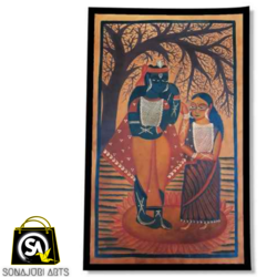 the couple love, 30 x 48 inch, sonajuri  arts,30x48inch,thick paper,paintings,folk art paintings,natural color,GAL03437047530