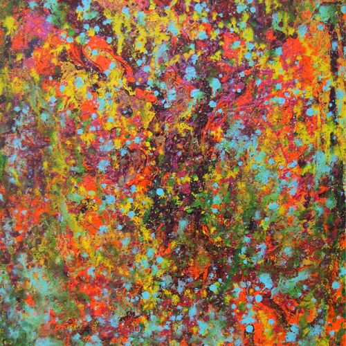 confusion, 23 x 28 inch, annie  ravi,abstract paintings,paintings for office,canvas,mixed media,23x28inch,GAL016784787