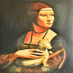 lady, 20 x 28 inch, kuljeet singh,figurative paintings,paintings for office,rice paper,oil,20x28inch,GAL0215479