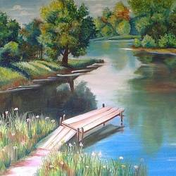 scenery , 15 x 12 inch, rajeswari bhimana,nature paintings,paintings for bedroom,canvas,oil,15x12inch,GAL017104817Nature,environment,Beauty,scenery,greenery