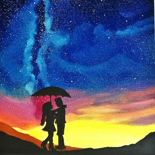 galaxy love, 12 x 16 inch, khushbu soni,love paintings,paintings for bedroom,canvas board,oil,12x16inch,GAL012264836heart,family,caring,happiness,forever,happy,trust,passion,romance,sweet,kiss,love,hugs,warm,fun,kisses,joy,friendship,marriage,chocolate,husband,wife,forever,caring,couple,sweetheart