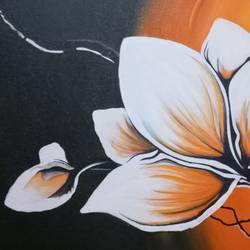flower, 24 x 18 inch, arpita  tomar,flower paintings,canvas,acrylic color,24x18inch,GAL012564945