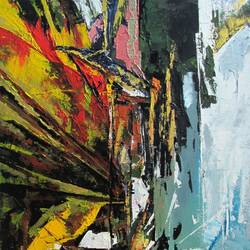 liquid & abstraction, 33 x 45 inch, abhishek kumar,abstract paintings,paintings for living room,canvas,acrylic color,33x45inch,GAL07874996